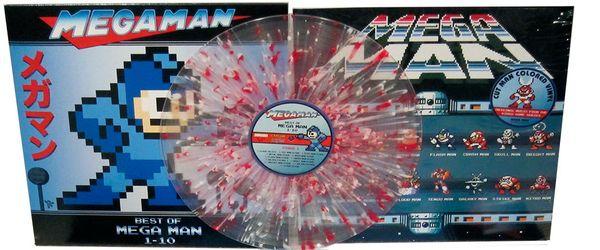 Le vinyl de Mega Man