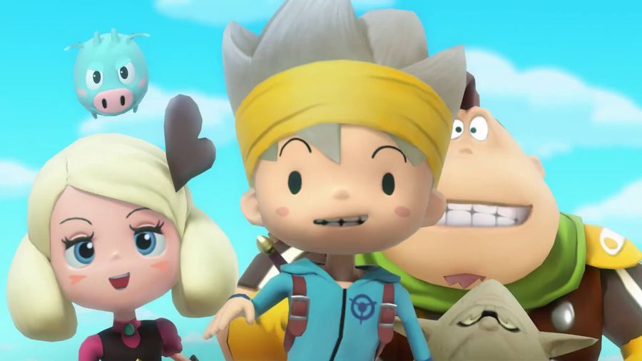 Snack World : Mordus de Donjons